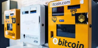 Distributeurs automatiques de Bitcoin