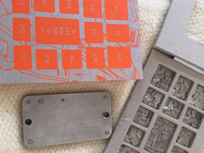 phrase de récupération de portefeuille plaque acier