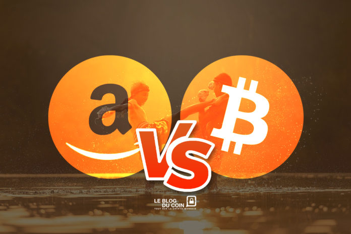 La crypto d'Amazon concurrente du bitcoin !
