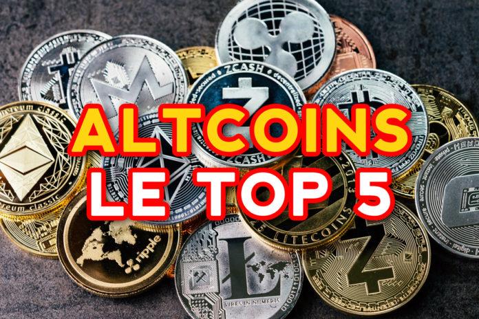 ALTCOINS LE TOP 5
